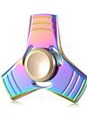 Toupies Fidget Spinner a main Jouets Tri-Spinner Aluminium EDCSoulagement de stress et l\'anxiete Jouets de bureau Soulage ADD, TDAH,
