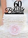 Vârfuri de Tort Personalizat Acrilic Nuntă Aniversare Petrecerea Bridal Shower Zi de Naștere Temă Grădină Temă Clasică OPP