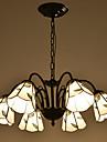 Lampe suspendue ,  Retro Peintures Fonctionnalite for LED Metal Salle de sejour Chambre a coucher Bureau/Bureau de maison Couloir