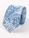 Bărbați Imprimeu Toate Sezoanele Fulare Bumbac Celofibră,Cravată