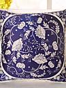 1 pcs Soie Housse de coussin Taie d\'oreiller,Fleur Nouveaute Decontracte Retro Traditionnel/Classique Euro