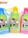 Chat Chien Bols & Bouteilles d\'eau Animaux de Compagnie Bols & alimentation Portable Jaune Bleu Rose