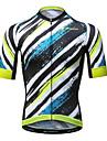 Mysenlan Maillot de Cyclisme Homme Manches Courtes Velo Maillot Sechage rapide Respirable Polyester Ete
