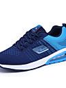 Bărbați Adidași Confortabili Mary Jane Tul Primăvară Vară Outdoor Casual Atletic Plimbare Dantelă Toc Plat Negru Portocaliu Albastru Plat