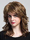 Charmantes longues boucles longues cheveux humains pour femmes