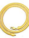 Bărbați Coliere Choker Bijuterii Bijuterii Placat Auriu stil minimalist Bijuterii Pentru Zilnic Casual 1 Pachet