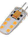 6W LED a Double Broches T 12 SMD 2835 200-300 lm Blanc Chaud Blanc Froid AC 12 V 1 piece