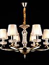 Lustre ,  Traditionnel/Classique Alliage de Zinc Fonctionnalite for Cristal Style mini MetalSalle de sejour Chambre a coucher