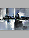 Pictat manual AbstractAbstract Un Panou Canava Hang-pictate pictură în ulei For Pagina de decorare
