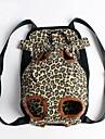 Pisici / Câine Portbagaje & rucsacuri de călătorie / Rucsac din față Animale de Companie  Învelișuri Portabil / Leopard Multicolor