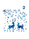 Animale Modă Peisaj Perete Postituri Autocolante perete plane Autocolante de Perete Decorative Material Pagina de decorare de perete Decal