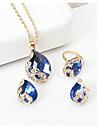 Pentru femei Seturi de bijuterii Ștras Stil Atârnat Ștras Aliaj Picătură Pentru Nuntă Petrecere Ocazie specială Zi de NaștereCadouri de
