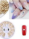 Manucure De oration strass Perles Maquillage cosmetique Nail Art Design