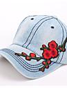 Damă Imprimeu Primăvara/toamnă Iarnă Pălărie Bumbac,Floppy Culoare pură