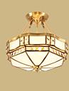 Lumini pandantiv ,  Tradițional/Clasic Rustic/ Cabană Alamă Caracteristică for LED Metal Sufragerie Dormitor