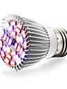 8W E27 LED Creșterea Plantelor 28 SMD 5730 800 lm Alb Cald Roșu Albastru UV (Fosforescentă) V 1 bc