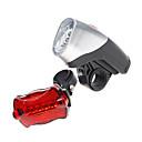 Bike Lights LED Kit  5-LED Front Light + 6-LED Tail Light (5xAA)