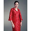 3/4-length rukava taft posebna prigoda jaknu / vjenčanja folijom
