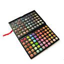 120 Paleta sjenila Mat / Shimmer Sjenilo paleta Powder Veliki Party smink / Füstös smink / Halloween smink