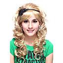 Capless Top Grade Quality Kanekalon Pretty Princess Style Long Curly Wig