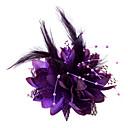 Ženy Malé družičky Peří Bavlna Přílba-Svatba Zvláštní příležitost Ozdoby do vlasů Květiny
