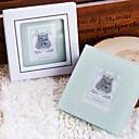 sottobicchieri foto eleganti scatola regalo in rilievo (2 Pezzi)