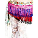 dancewear poliestere performance di danza del ventre cintura per le signore colori più