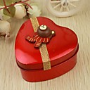 12 Piece/Set Favor Holder - Heart-shaped Tins Favor Tins and Pails/Favor Boxes