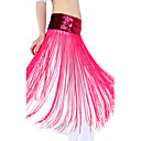 Komplet za trbušni ples od poliestera, šljokice, pojas, više boja