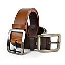 Men's Buckle Leather Belt