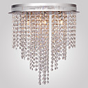 Max 10W Flush Mount ,  Modern/Comtemporary Electroplated svojstvo for Crystal / Mini Style Metal Living Room / Bedroom