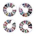 20 kom noktiju kotače ukras umjetnost