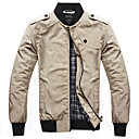 Men's Long Sleeve Jacket Casual Pure