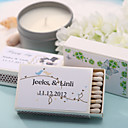 Wedding Décor Personalized Matchboxes - Lovely Birds (Set of 12)