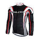 NUCKILY® Biciklistička majica Muškarci Dugi rukav Bicikl Ugrijati / Quick dry / Ultraviolet Resistant Biciklistička majica / Majice100%