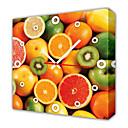 Moderni voće zidni sat u platnu