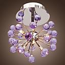 maishang® 6 svjetlo cvjetni oblik K9 kristalno strop svjetlo ljubičasta (0942-98.004-c-6p