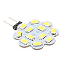 6W G4 LED svjetla s dvije iglice 12 SMD 5630 560 lm Prirodno bijelo DC 12 V