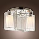 luce di soffitto camera da letto design moderno 2 luci