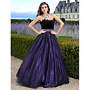 Prom / Formal Evening / Quinceanera / Sweet 16 Dress - Plus Size / Petite A-line / Ball Gown / Princess Strapless Floor-length Tulle