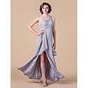 Šaty pro matku nevěsty - Stříbrná Bez rukávů Šifón - Pouzdrové / Tužkové Na podlahuJablko/Přesýpací hodiny/Obrácený