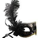 Maska cosplay Festival/Svátek Halloweenské kostýmy Černá Jednobarevné Maska Halloween / Karneval / Nový rok Unisex PVC