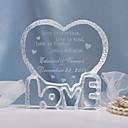 Figurky na svatební dort Přizpůsobeno Srdce Křišťál Svatba / Párty pro nevěstu / Výročí Klasický motiv Dárková taška