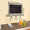 ビンテージボード黒板自然ウォールステッカー