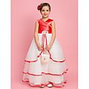 Lanting nevěsta ® alfa-line / plesové šaty / kněžna podlahy Délka květin šaty - organza / Saténové bez rukávů