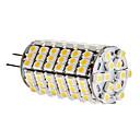 6W G4 LED corn žárovky T 120 SMD 3528 450 lm Teplá bílá DC 12 V