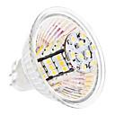 daiwl MR16 3,5 w 54x3528 SMD 240-260lm 3000-3500k teplé bílé světlo LED žárovka kukuřice (12V)