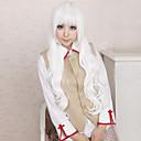 Cosplay Wigs Angel Sanctuary Rosiel Bijela Long Anime Cosplay Wigs 80 CM Otporna na toplinu vlakna Male