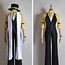 Inspirovaný Vocaloid Kagamine Len Video Hra Cosplay Kostýmy Cosplay šaty Patchwork Czarny Poloviční rukávyVesta / Tričko / Kalhoty /