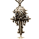 Jewelry Inspirirana Final Fantasy Cloud Strife Anime / Video Igre Cosplay Pribor Ogrlice Zlatna Alloy Male